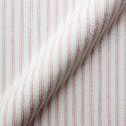 Cotton Stripe: Pink