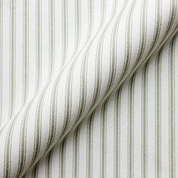 Cotton Stripe: Sage
