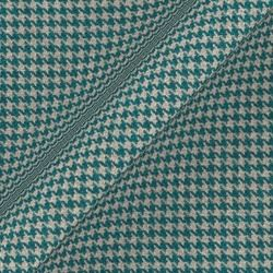 Houndstooth: Teal
