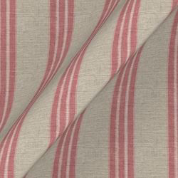 Cloth 18 stripe Bengal: Cranberry