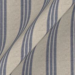 Cloth 18 stripe Bengal: Indigo
