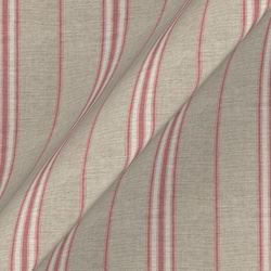 Cloth 18 stripe Regimental: Cranberry