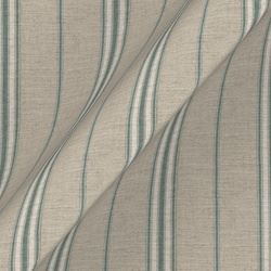 Cloth 18 stripe Regimental: Basil