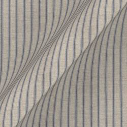 Cloth 18 stripe Ticking: Indigo