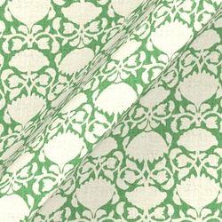 Spring Rhythm: Lotus Reverse Green