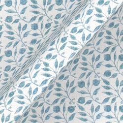 Rosehip Linen: Mineral Blue