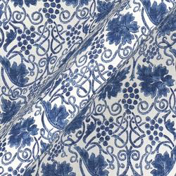 Grapevine Linen: Indigo