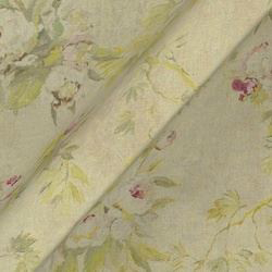 Floreale Linen: Natural