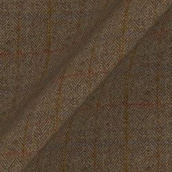 Harris Tweed House: Loden Herringbone
