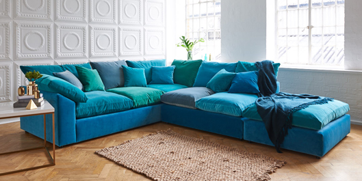 big softie corner sofa on finance