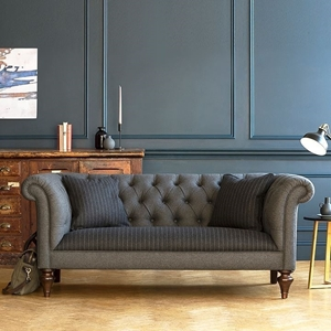 Shop Our Edit: Camden 2.5 Seater Sofa in Smythson Ebony & Amatheon Armour