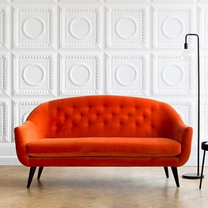 Shop Our Edit: Finsbury 3 Seater Sofa in Cameron Paprika