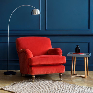 Shop Our Edit: Kentwell Ladies Chair Tango Velvet Terracotta