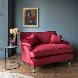 Shop Our Edit: Alwinton Snuggler in Velvet Burgundy