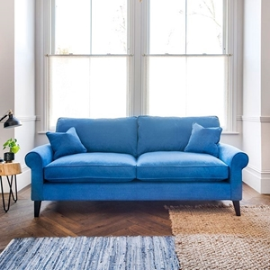 Shop Our Edit: Waverley 3 Seater Sofa in Romo Linara Bilberry