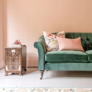 Shop Our Edit: Abbotsbury 3 Seater Sofa  in Portland Velvet Teal