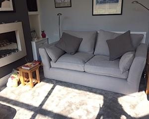 Customer Image: Aldeburgh 3 Seater Sofa in Romo Linara Turtle Dove