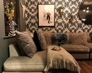 Customer Images: Whitstable Large Corner Group in Lumino Velvet Slate