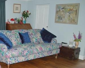 Customer Image: Kentwell 3 hump 4 Seater Sofa in Liberty Linen Fresco Lagoon