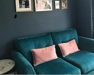 Customer Image: Oxwich 2.5 Seater Sofa Bed in Cameron Velvet Mallard