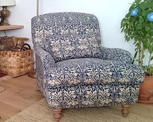 Customer Photo: Kentwell Chair in William Morris Brer Rabbit