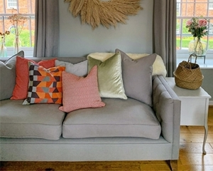 Customer Image:  Haresfield 3 Seater Sofa in Viking 37 Grey