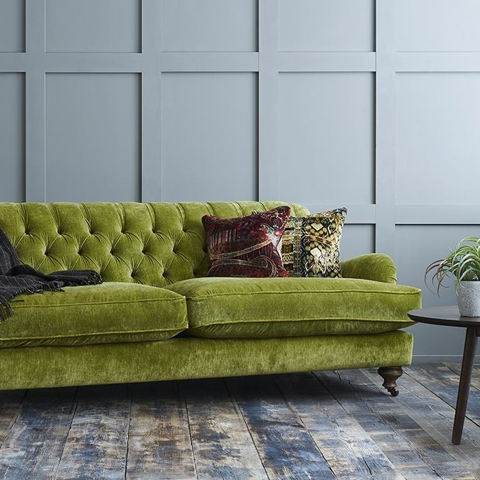 Shop Our Edit: Chiddingfold 3 Seater Sofa in Mossop Moss