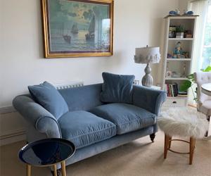 Customer Photos: Clavering 2.5 Seater Sofa in Linwood Omega Atol