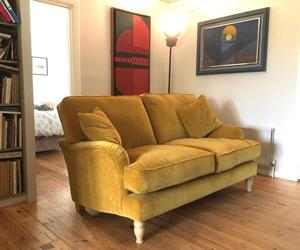 Customer Photos: Alwinton Small 2 Seater Sofa in Warwick Velluto Turmeric
