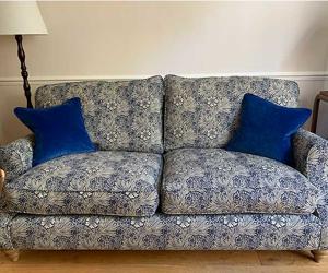 Customer Photos: St Mawes 3 Seater Sofa in Morris & Co Primrose