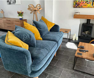 Customer Photos: Helmsley 4 Seater Sofa in Warwick Velluto Denim