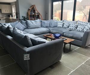 Customer Photos: Hambledon Corner Sofa In Wemyss Fiora 02 Nickel