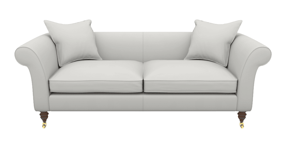 Clavering 3 seater sofa transparent background