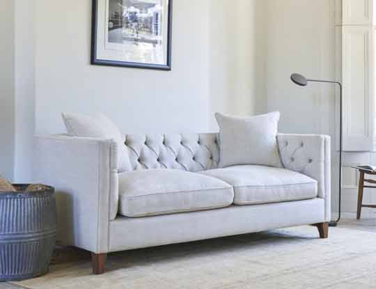 white linen chesterfield sofas inspire page