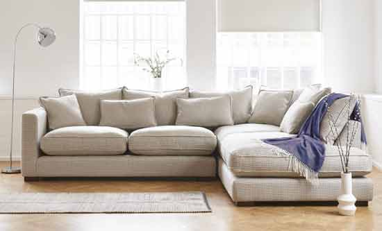 whitstable large modular sofa checked fabric inspiration page