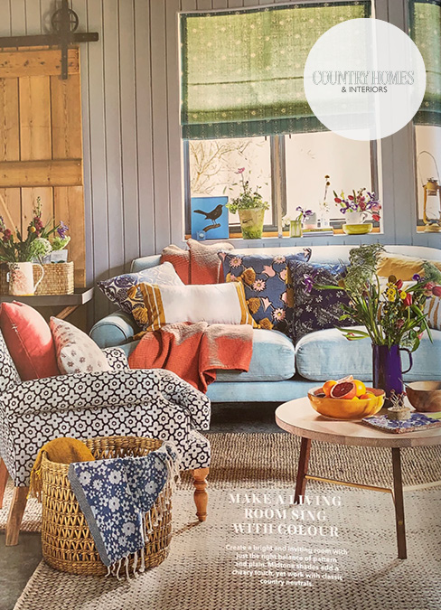 Country Homes Feature Sofas and Stuff Thistle Chair