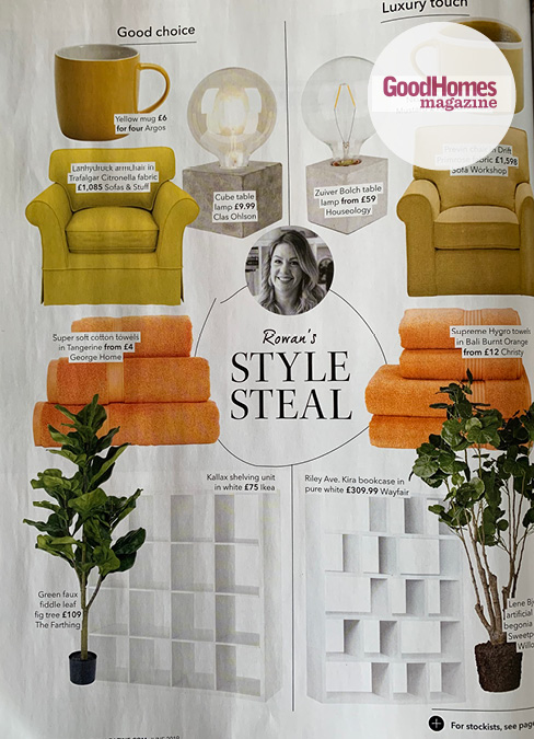 Good Homes Feature Sofas and Stuff Yellow Landydrock Chair