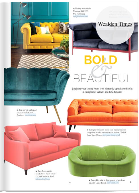 Wealdon Times Feature Sofas and Stuff Rye sofa