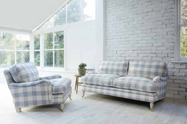 striped lounge suite sofas image