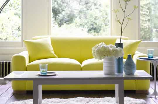 3 seater yellow luxury fabric settee inspire page